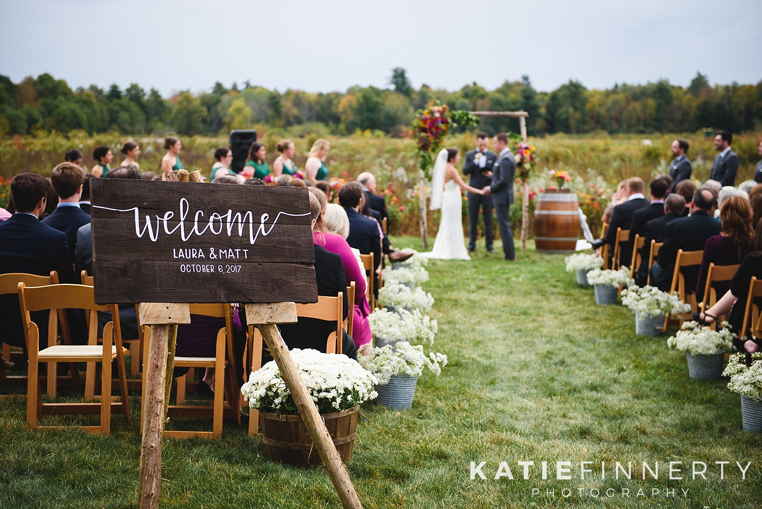 Silver Queen Farm Fall Wedding Photography