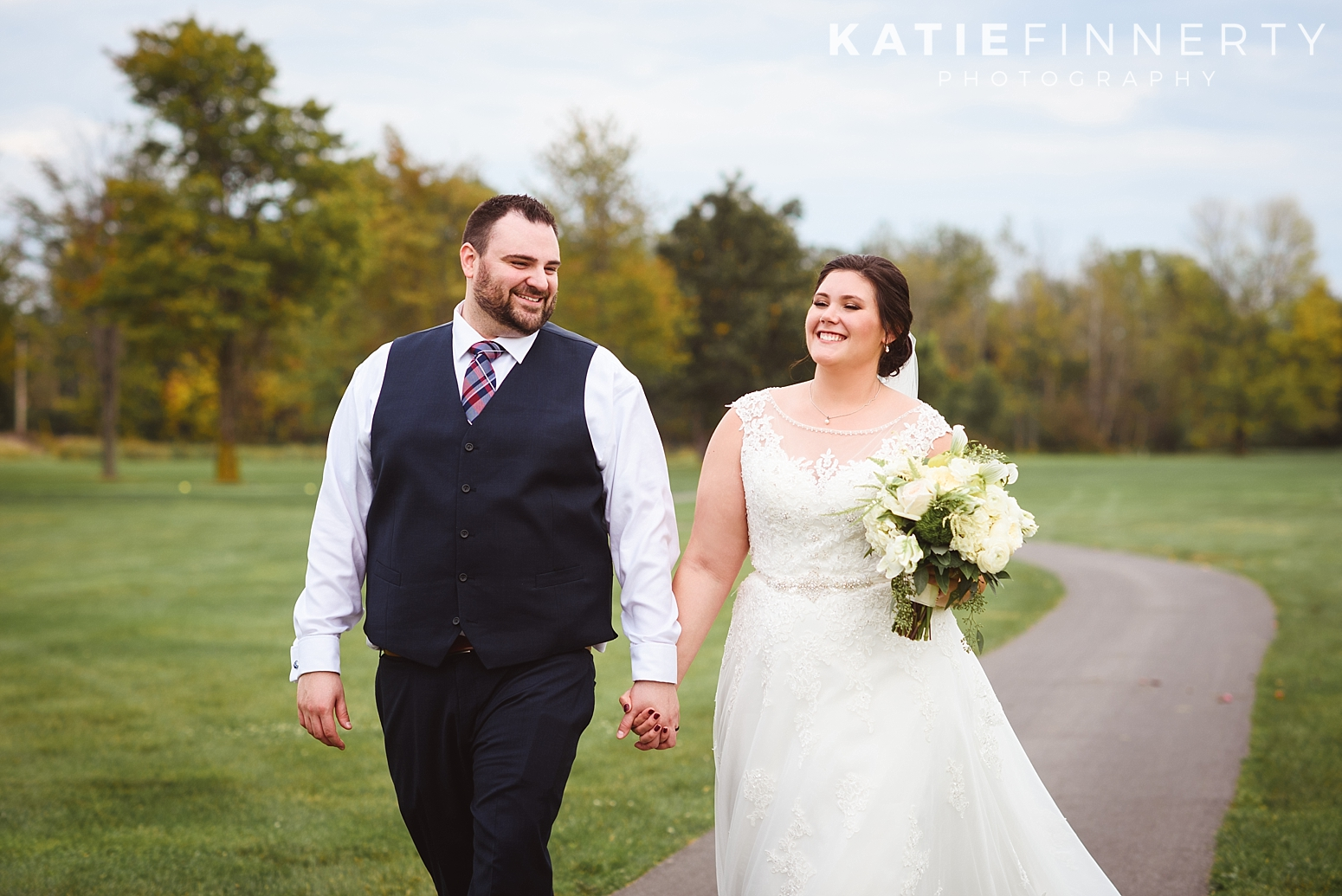 Deerfield Country Club Rochester Fall Wedding Photography