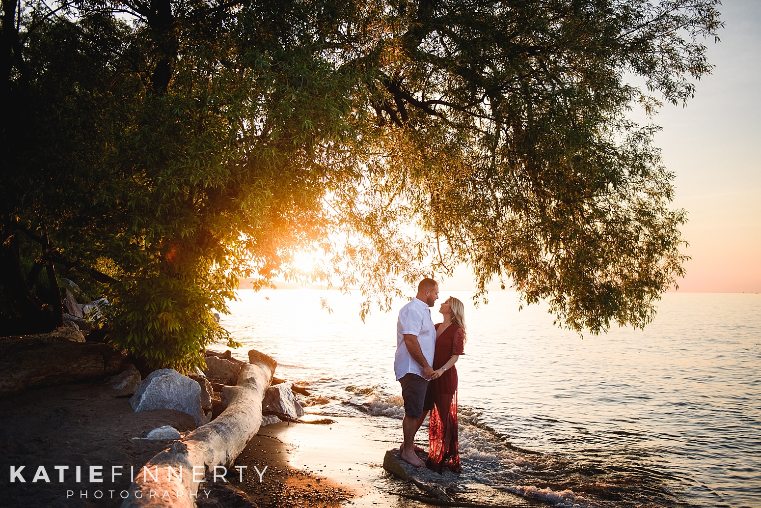 Durand Eastman Beach Rochester Engagement Session Photography