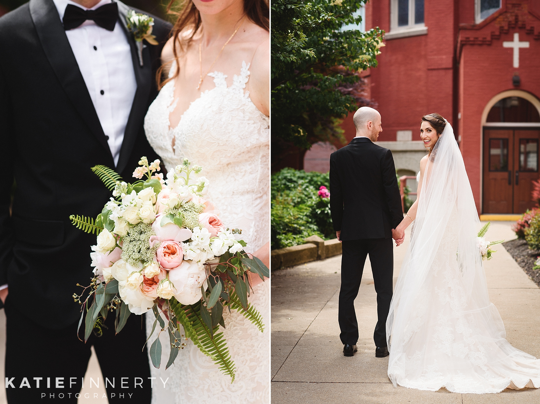 St. Mary's Church Downtown Rochester Wedding Photography