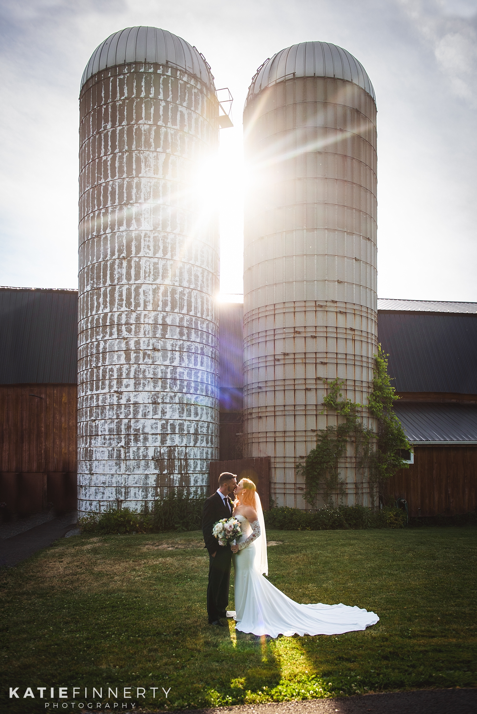 Twin Silos Barn Finger Lakes Wedding Photography