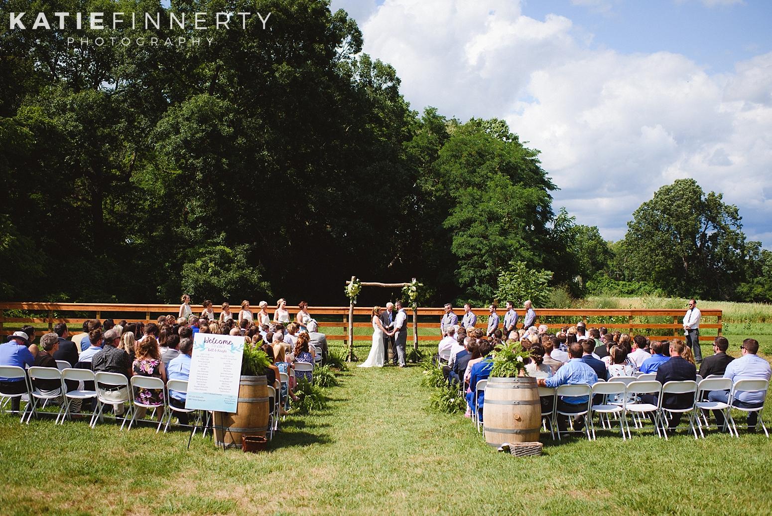 Cobblestone Wedding Barn Rochester Photography