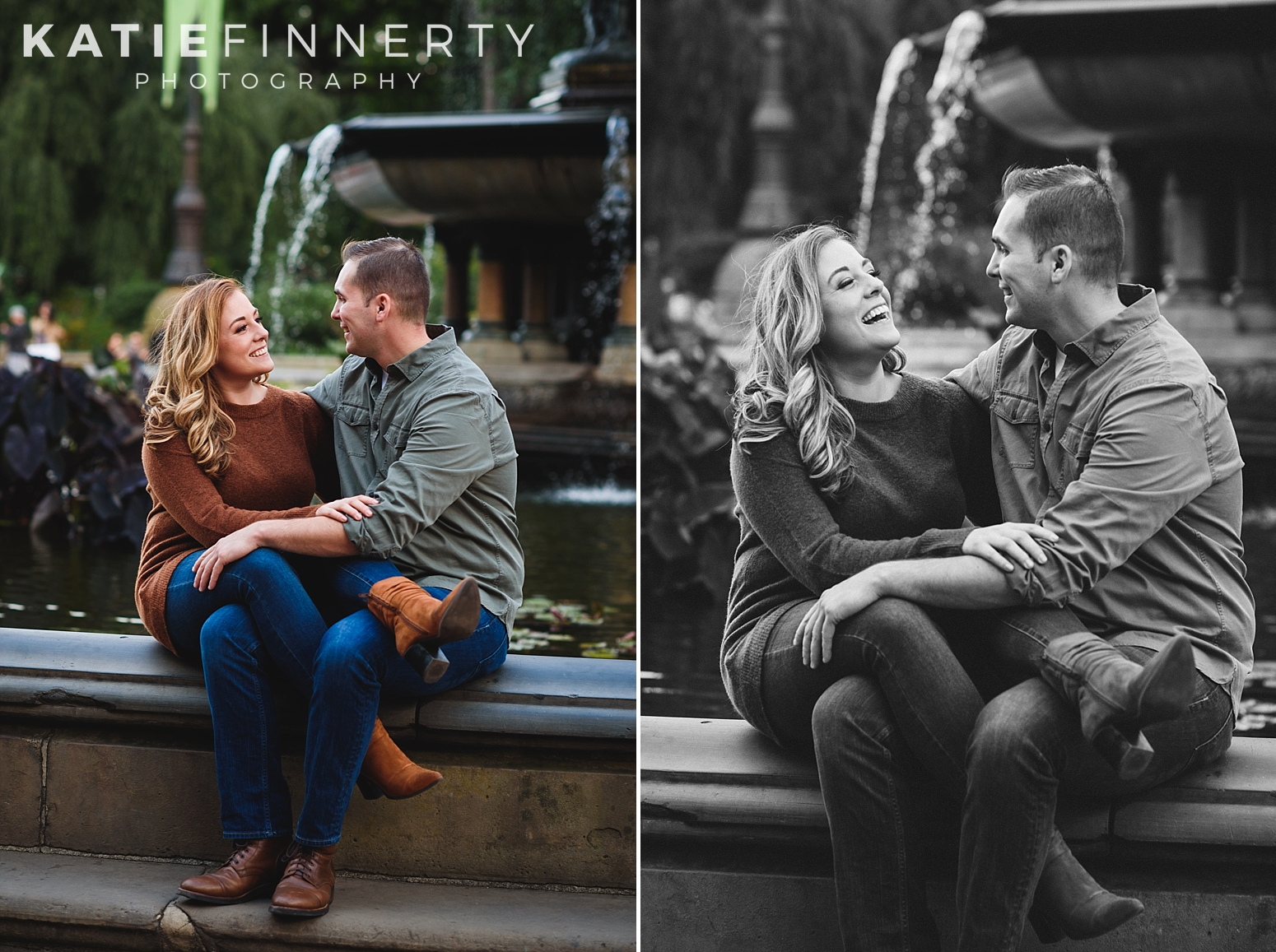 Central Park NYC Engagement Session Photography