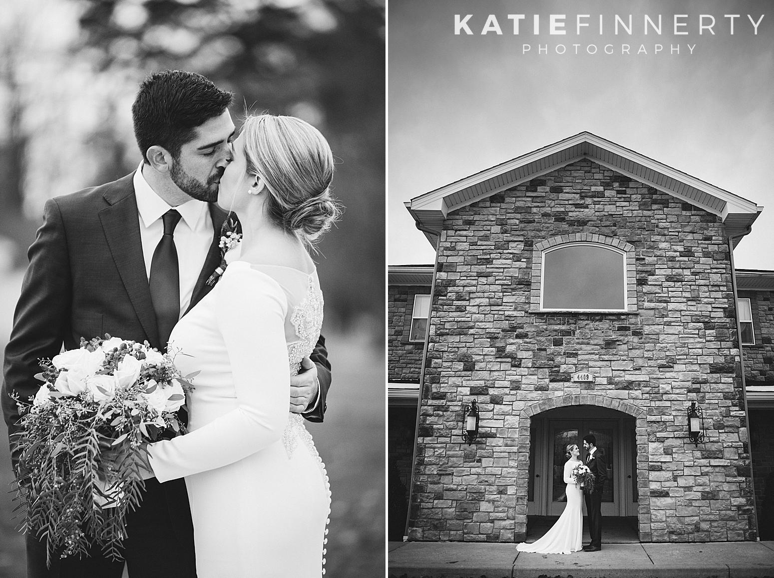Avanti Mansion Buffalo Winter Wedding Photography