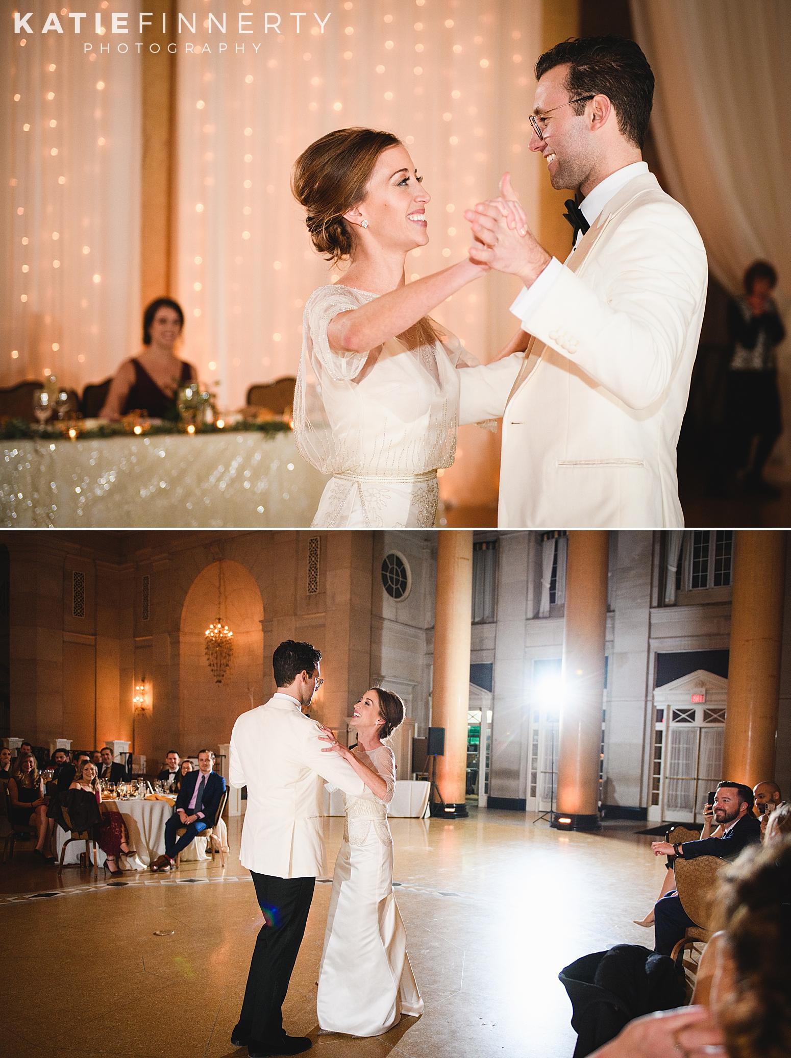 Hall of Springs Saratoga Winter Wedding Photography