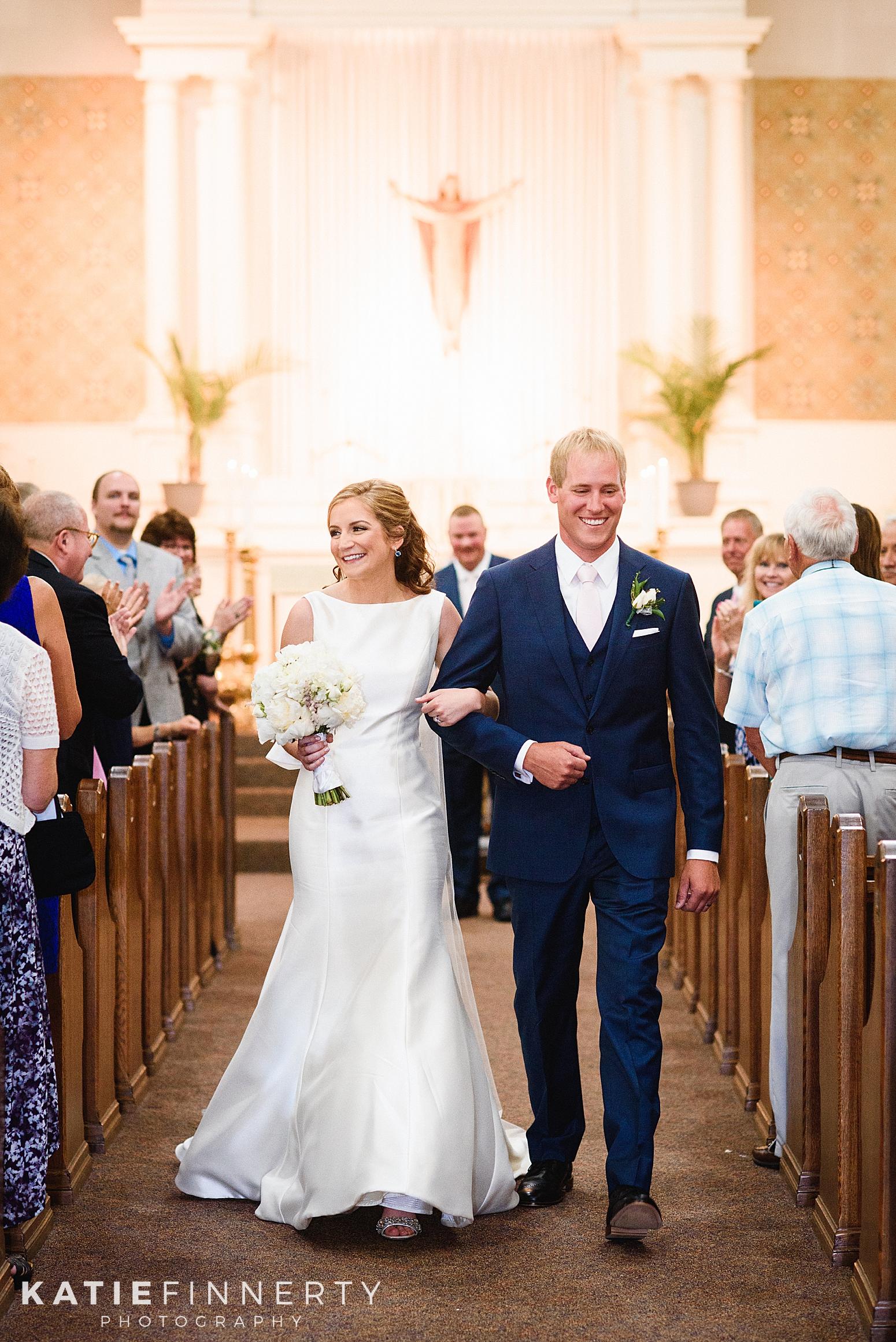 Finger Lakes Catholic Church Wedding Photography