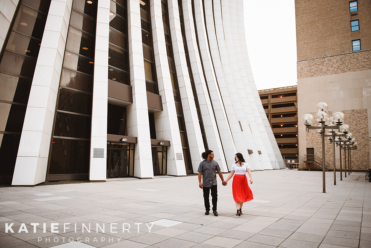 Downtown Rochester Engagement Session Photography