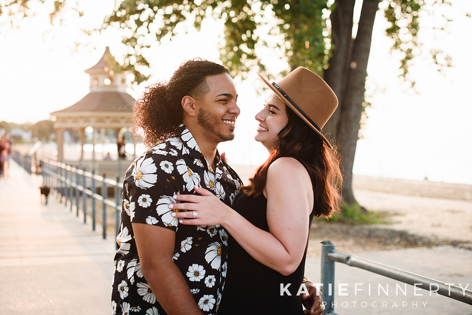 Ontario Beach Park Rochester Engagement Session Photography