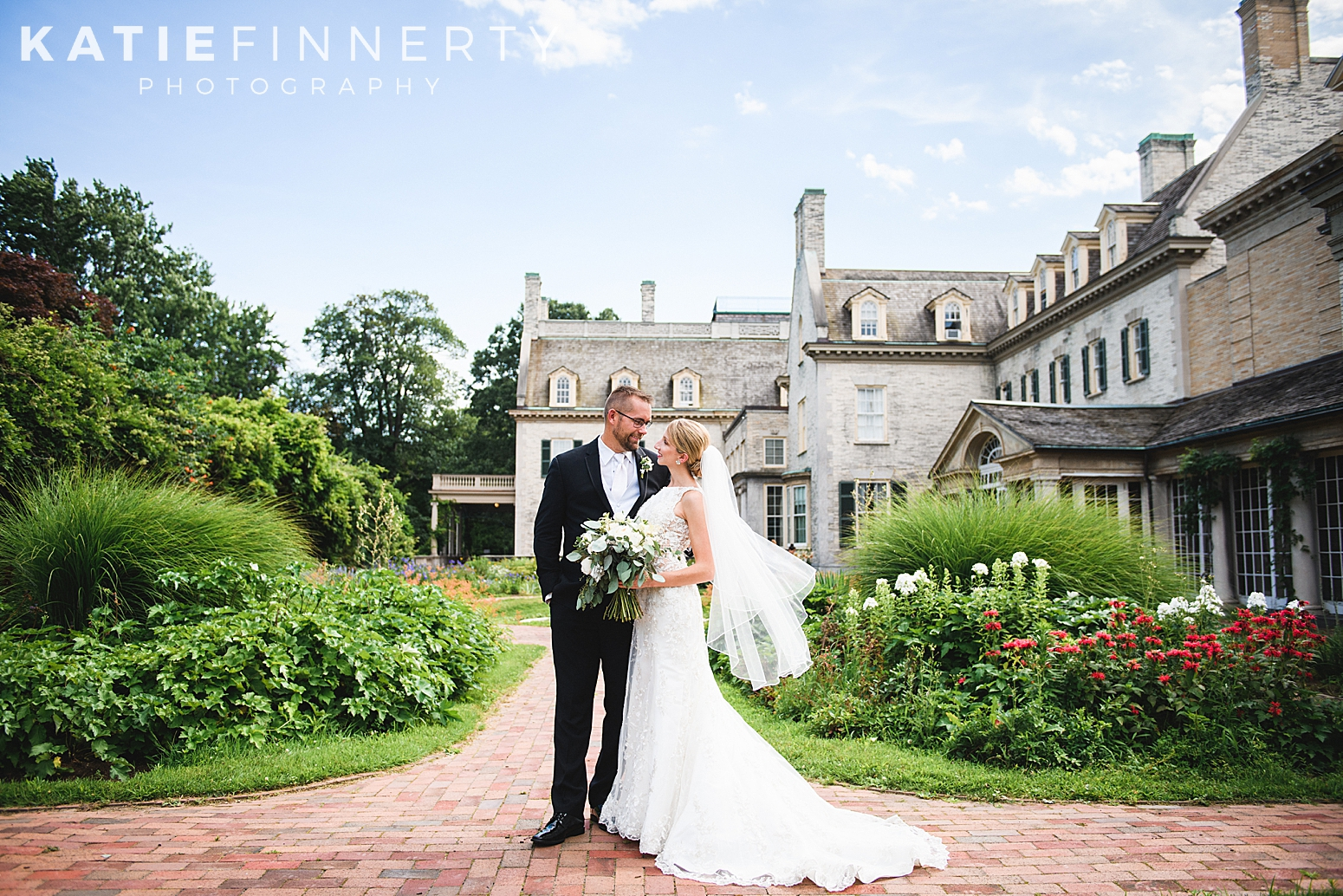 George Eastman House East Garden Rochester Wedding Photography