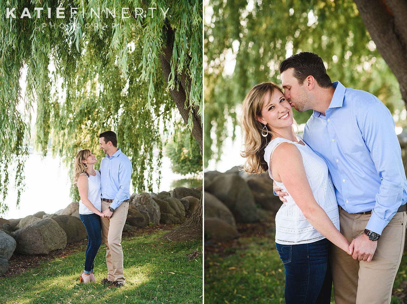 Kershaw Park Canandaigua Engagement Session