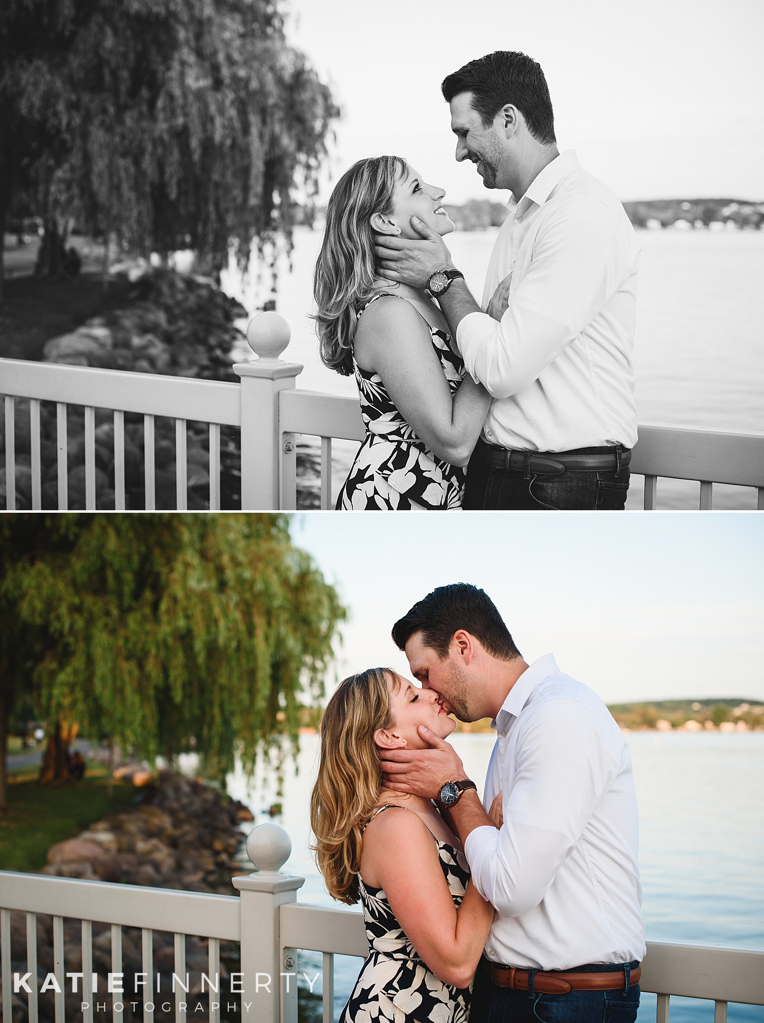 Kershaw Park Canandaigua Lake Engagement Session