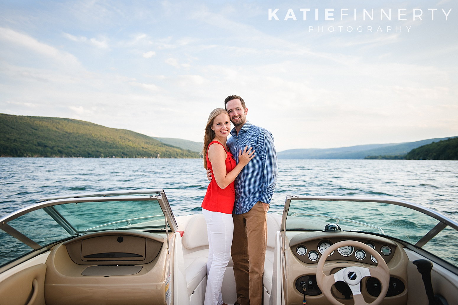 Canandaigua Lake Engagement Session Photography