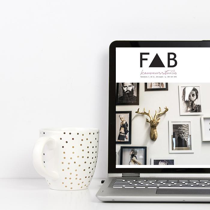 Kauneusstudio FAB nettisivut