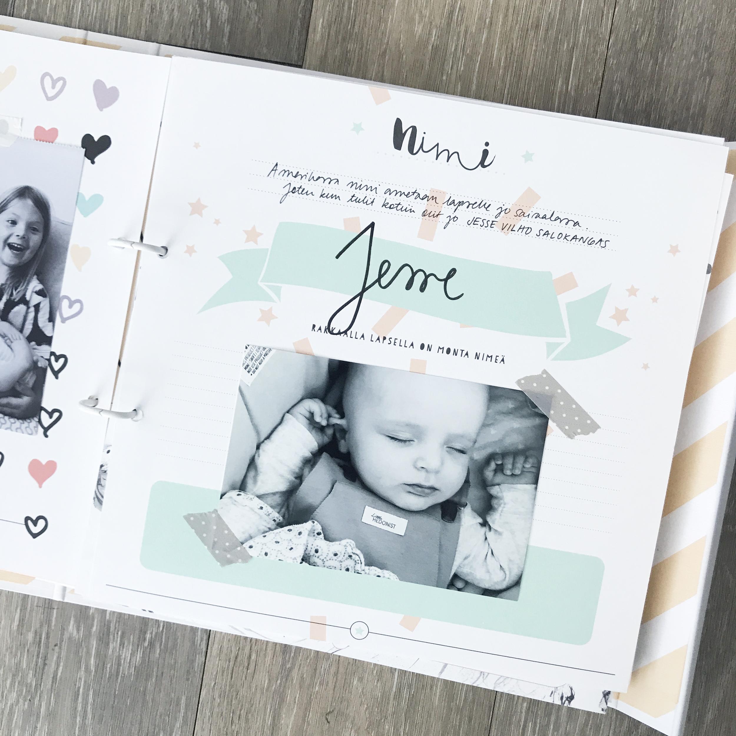Oot niin ihana vauvakirja - vinkit leikekirjan suunnitteluun
