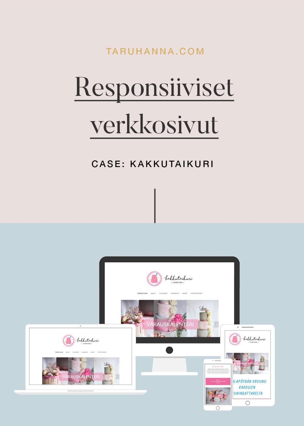 Responsiiviset nettisivut - Kakkutaikuri