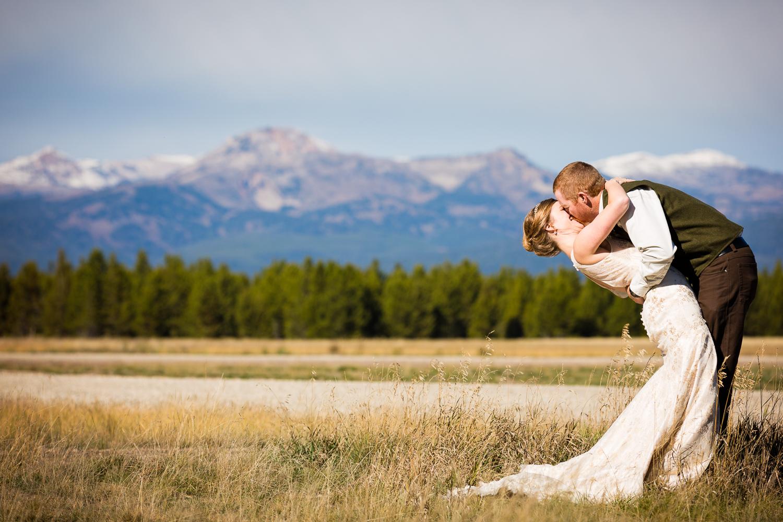 Yellowstone Wedding Becky Brockie Photography Couple Photo