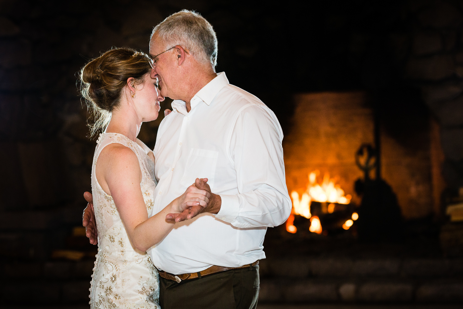 Yellowstone Wedding Becky Brockie Photography Father Daughter Dance