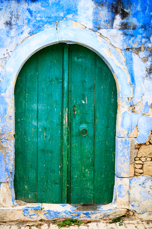 I loved the colorful doorways in Margarites.