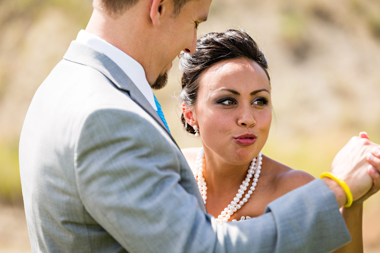 billings-montana-chanceys-wedding-first-look-bride-goofy-face.jpg