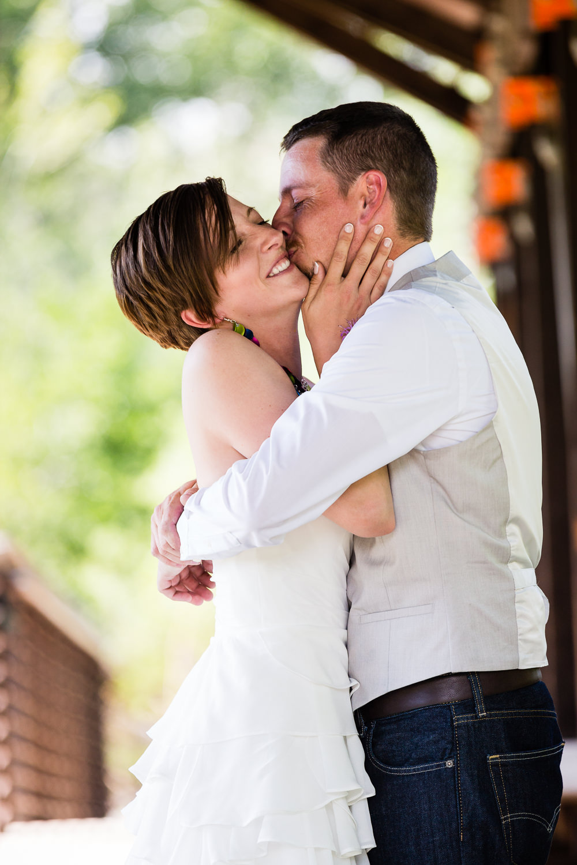 bozeman-montana-wedding-groom-kisses-bride-during-first-look.jpg