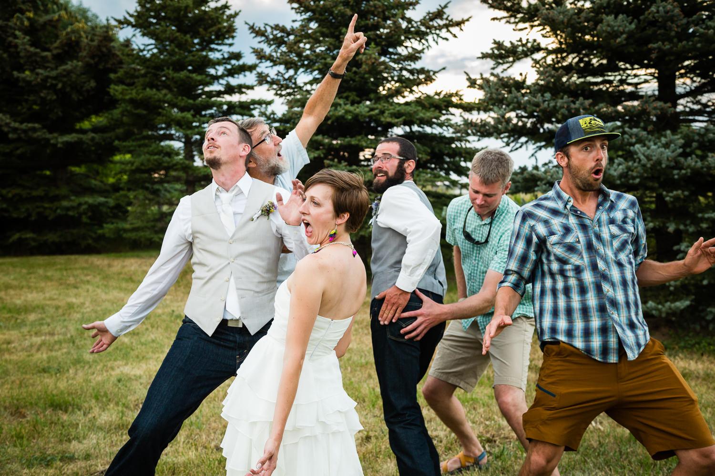 bozeman-montana-wedding-bride-groom-silly-friend-pose.jpg