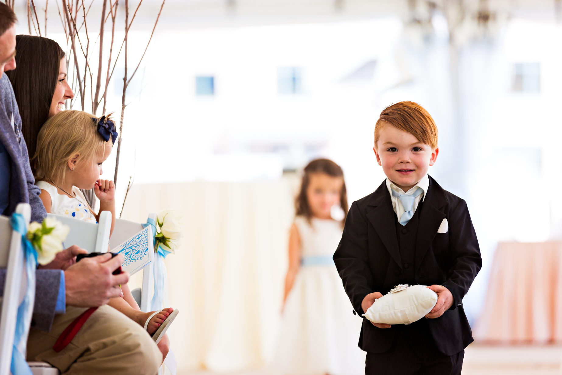 big-sky-resort-wedding-ring-bearer-walks-aisle.jpg