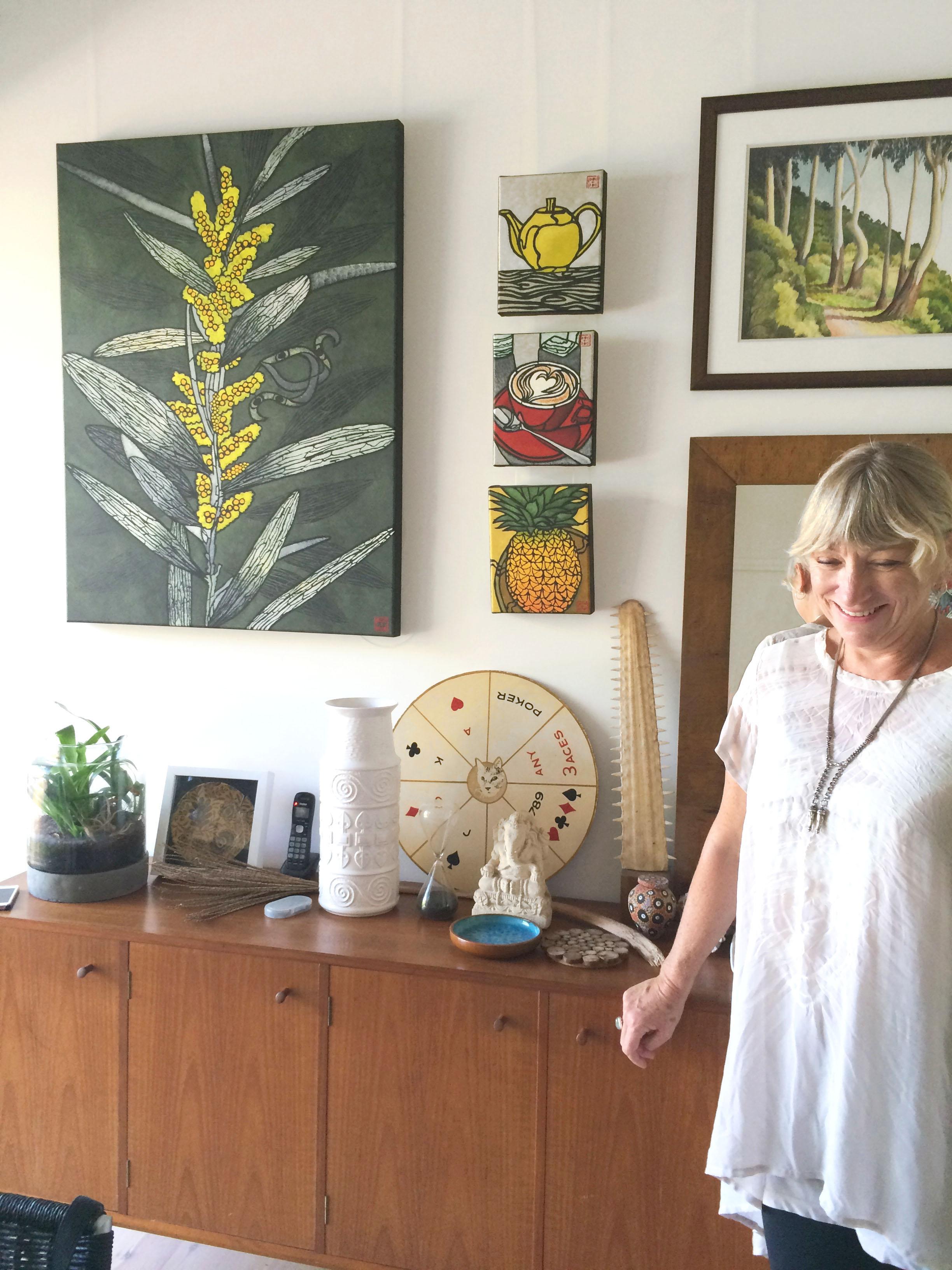 YOU ARE BRAVE Interviews Julie Hickson Artist