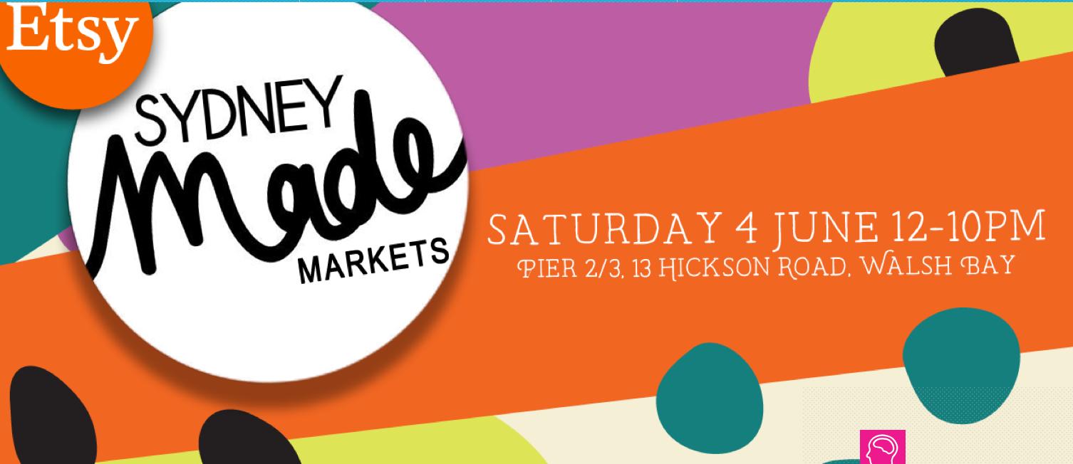 Etsy Sydney Made Markets at Vivid 2016