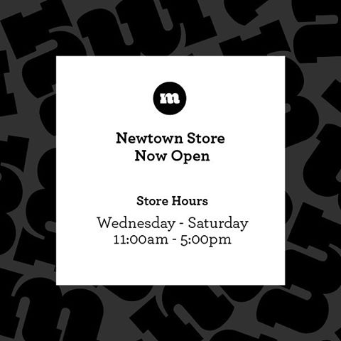 Madge Goods Newtown Store Opening Hours