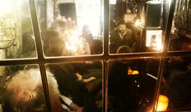 Another audience captivated by Adams Weymouth's story. Last night Feral album launch