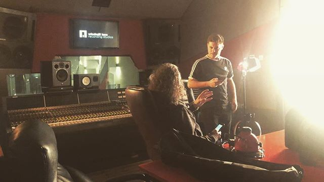 pre interview prep with Larry Hogan of @dublinstudiohub. These guys got it going on! @windmilllanerecording 🔥🙏 . #music #studio #interview #rap #dublin #windmilllanestudios #u2 #ireland #songwriting #writing #camp #newmusic #work #love #vocals #recording #records #ep
