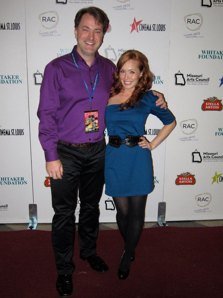 St Louis International Film Fest 2011 with Shuffle's Director, Kurt Kuenne