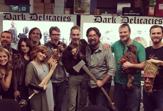 The LitToM Gang! (including the awesome  DOUG JONES )