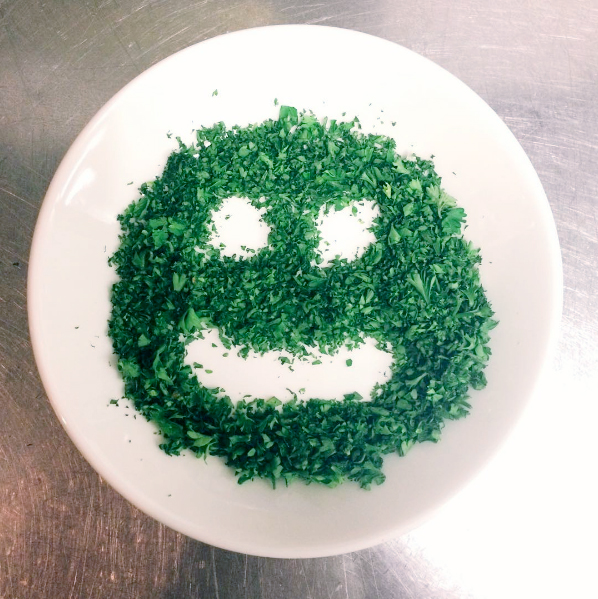 stole this one from @Mattkemb ... he likes to play with food.