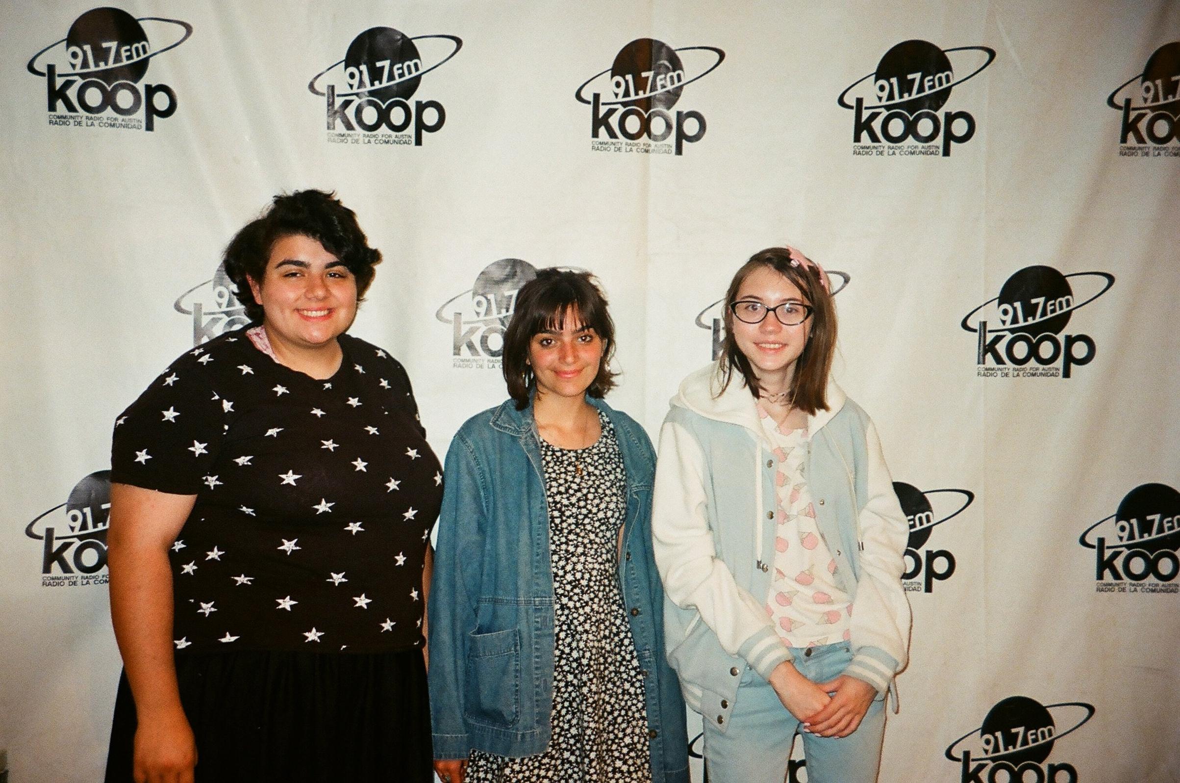 Miranda, Apol, and Maddie of Youthspin