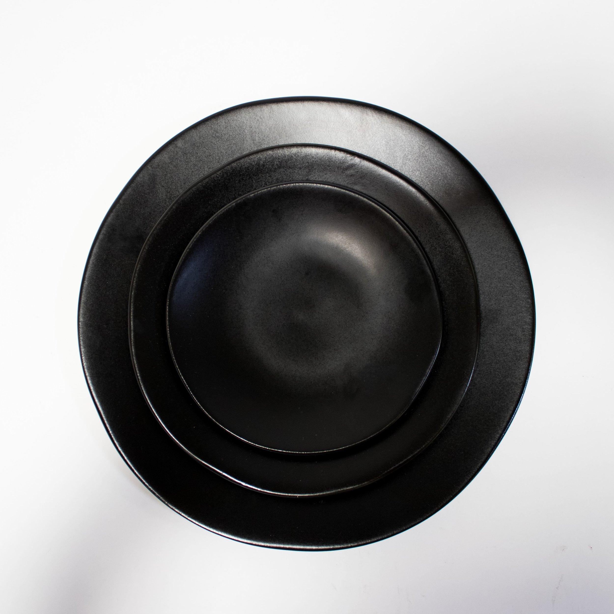 Charcoal Ceramic Dishware