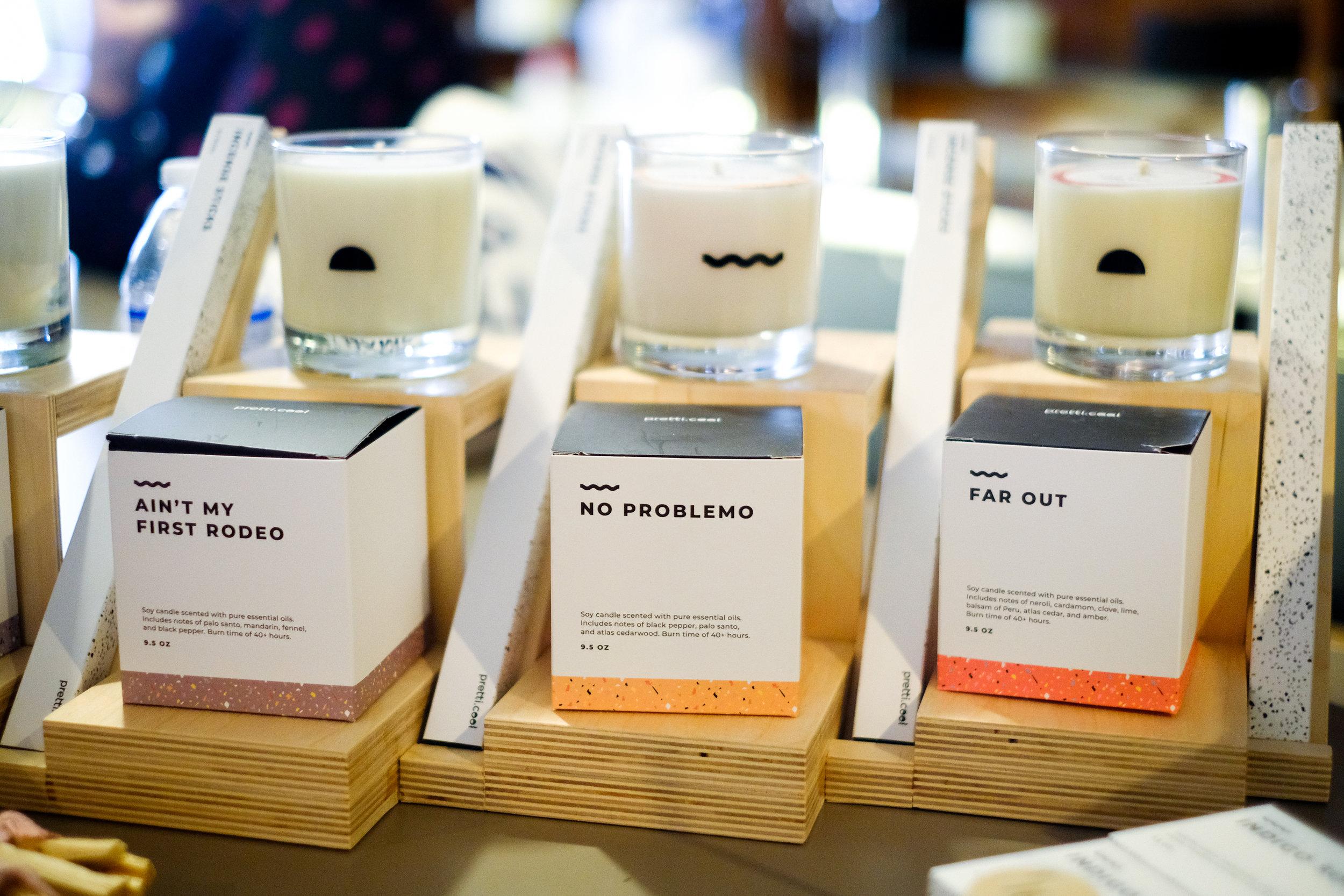 Pretti.cool candles