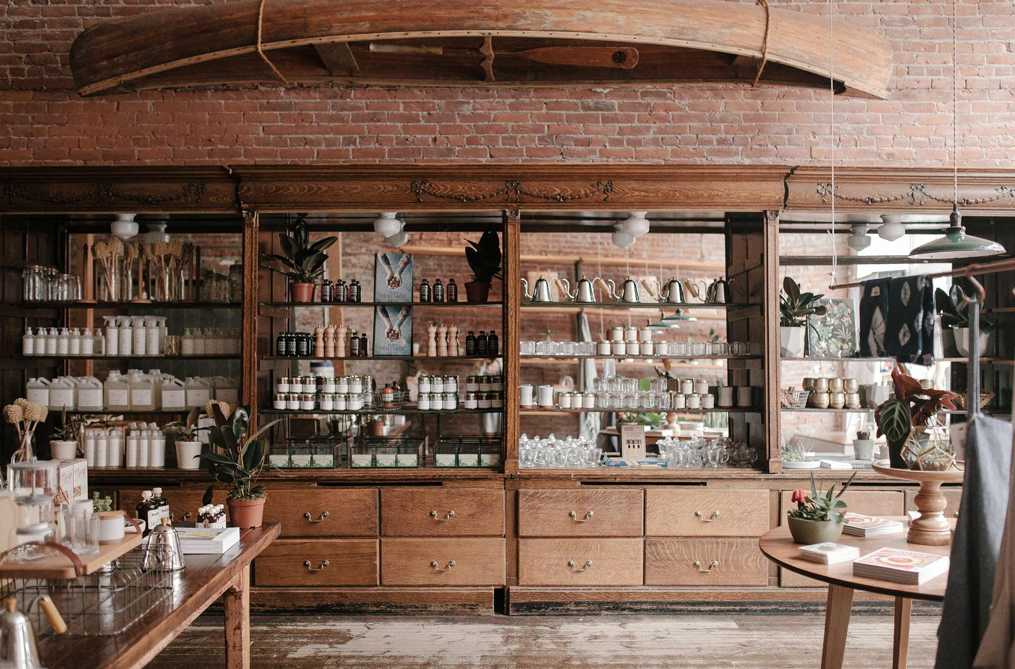 Old Faithful Shop in Gastown. Image via. CEREAL Magazine
