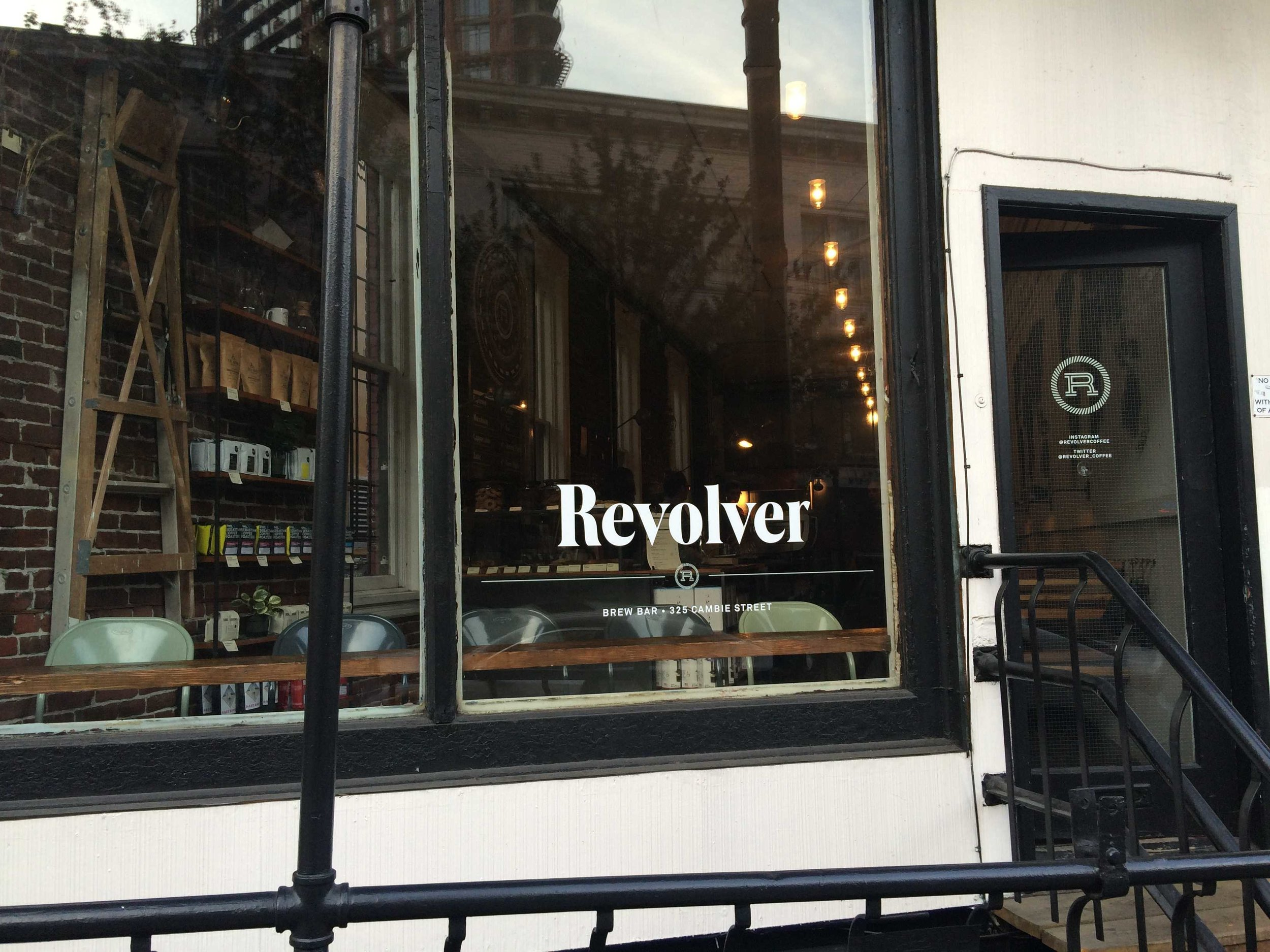 Revolver coffee in Gastown