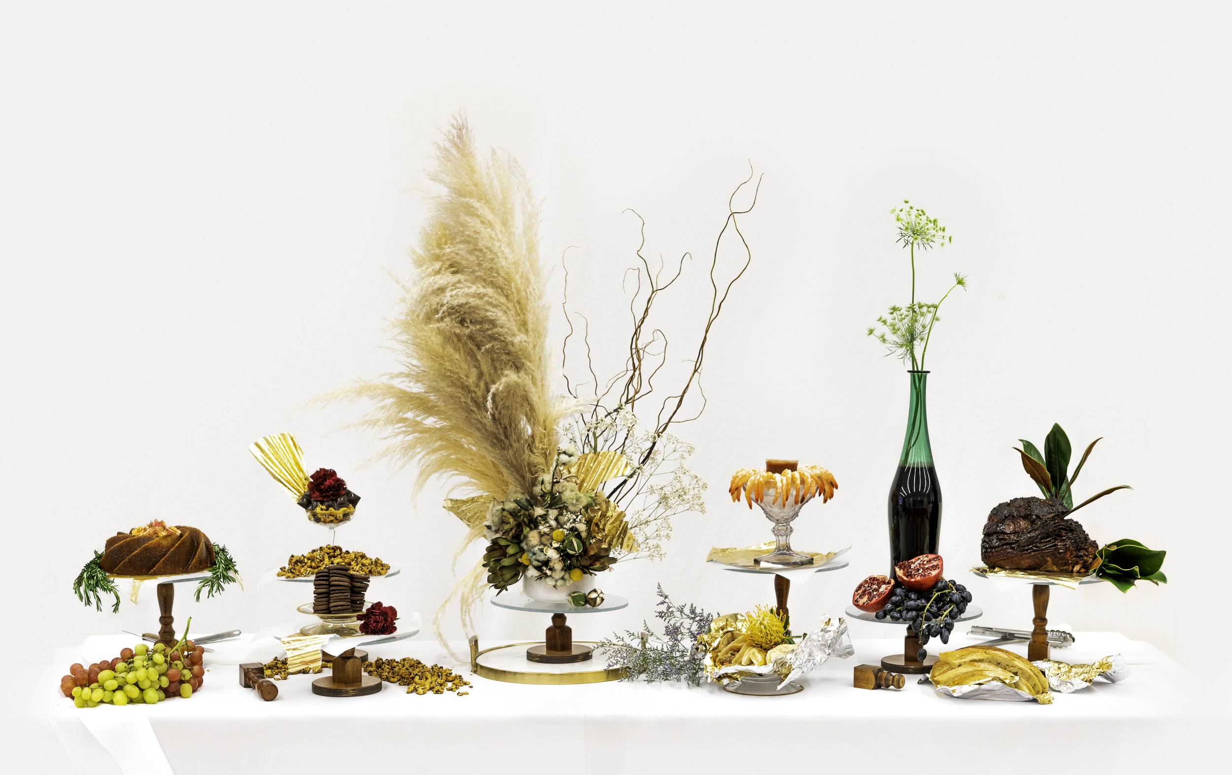 Culinary and visual artist Krystal Mack's The Table of White Supremacy