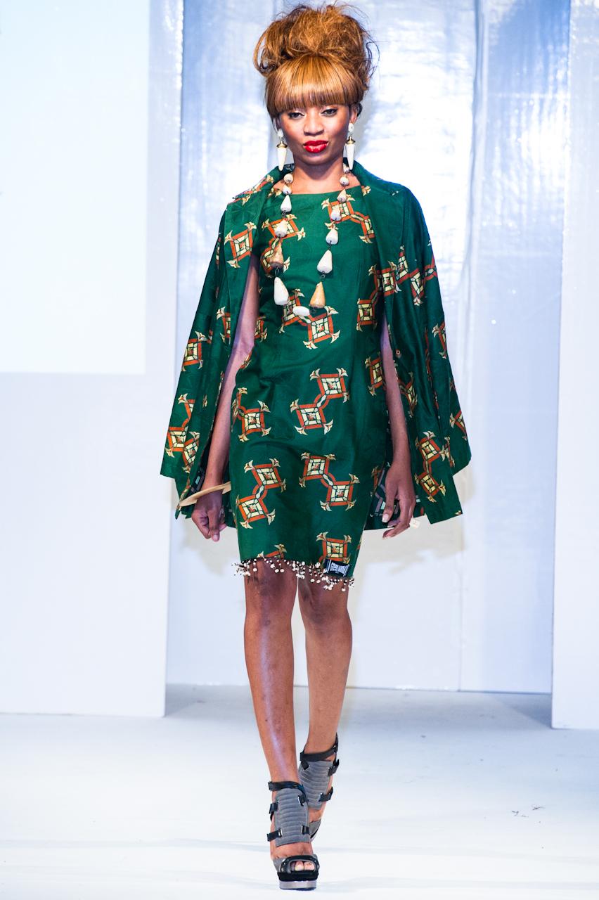 Green Mamba L Africa Fashion Week London