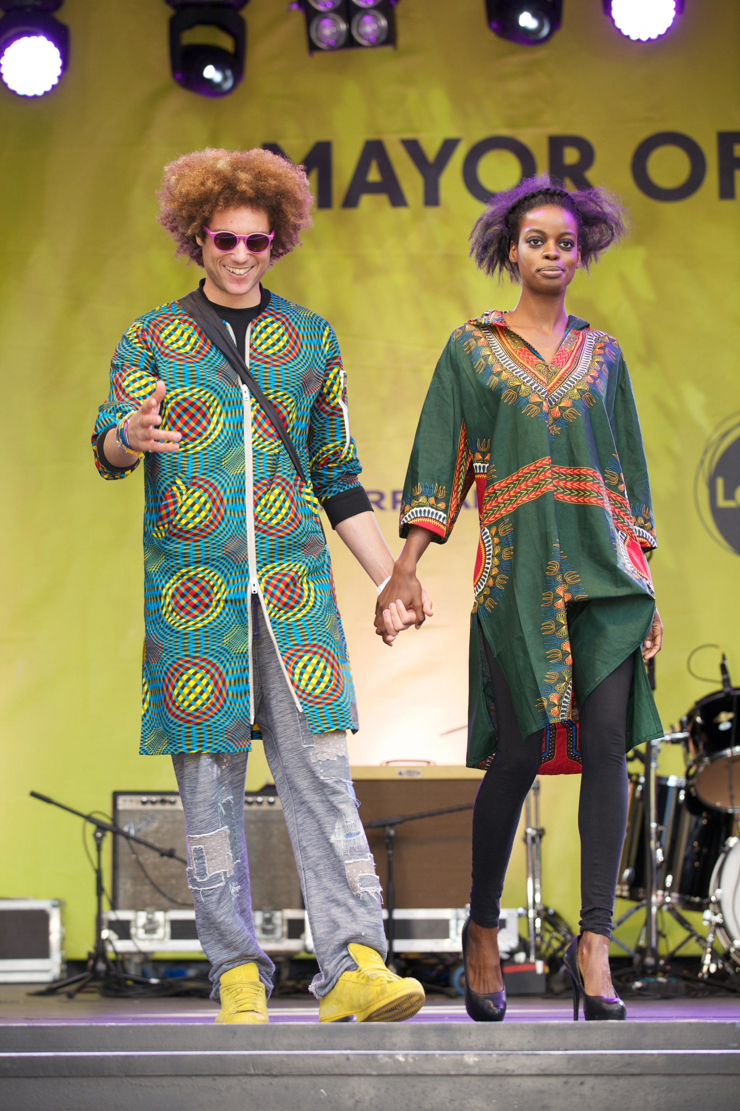 Continent Clothing at Africa on the Square 2016