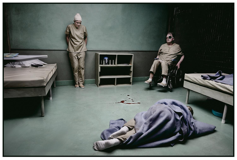 DIANA BENTLEY, ROBERT PERSICHINI and VIVIEN ENDICOTT-DOUGLAS (under blanket) | photo by TIM LEYES