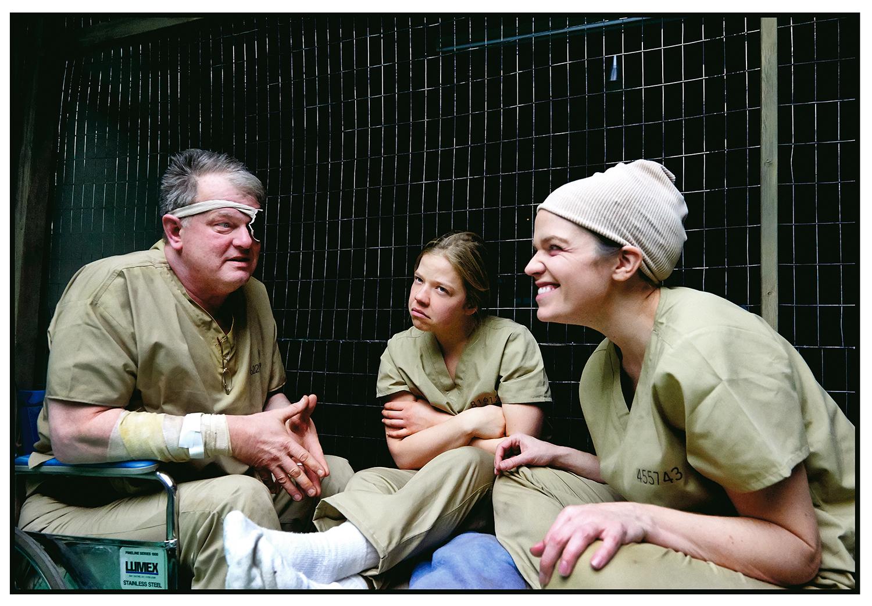ROBERT PERSICHINI, VIVIEN ENDICOTT-DOUGLAS, and DIANA BENTLEY | photo by TIM LEYES