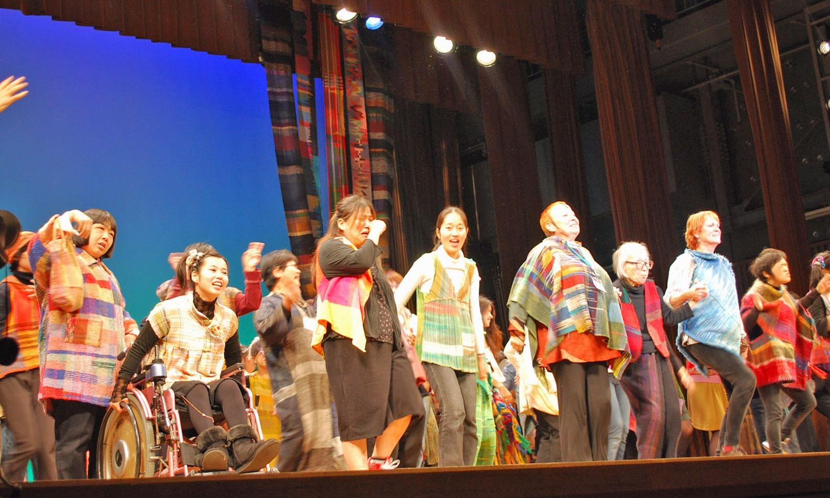 SAORI 40th Anniversary Event in Osaka, Japan in 2009.