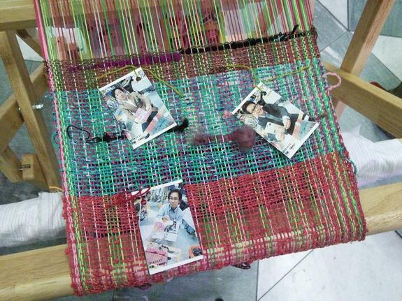 Photo portraits of weavers in Tohoku