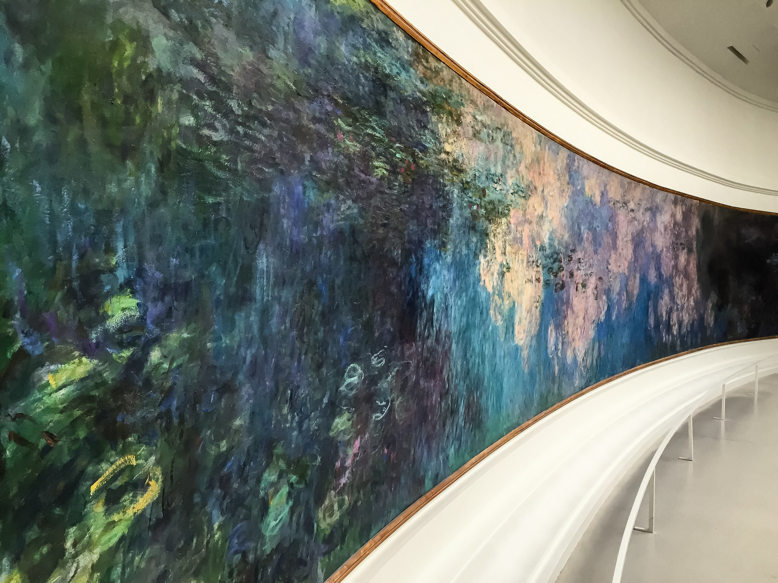 """Just one of the 8 Monet """"Water Lilies""""paintings I mentioned"""