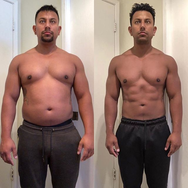 Worked with @mr_mikelarry and had to get him ready for all his vacations. He locked it down with workout and nutrition and got to where he needed for his vacations.