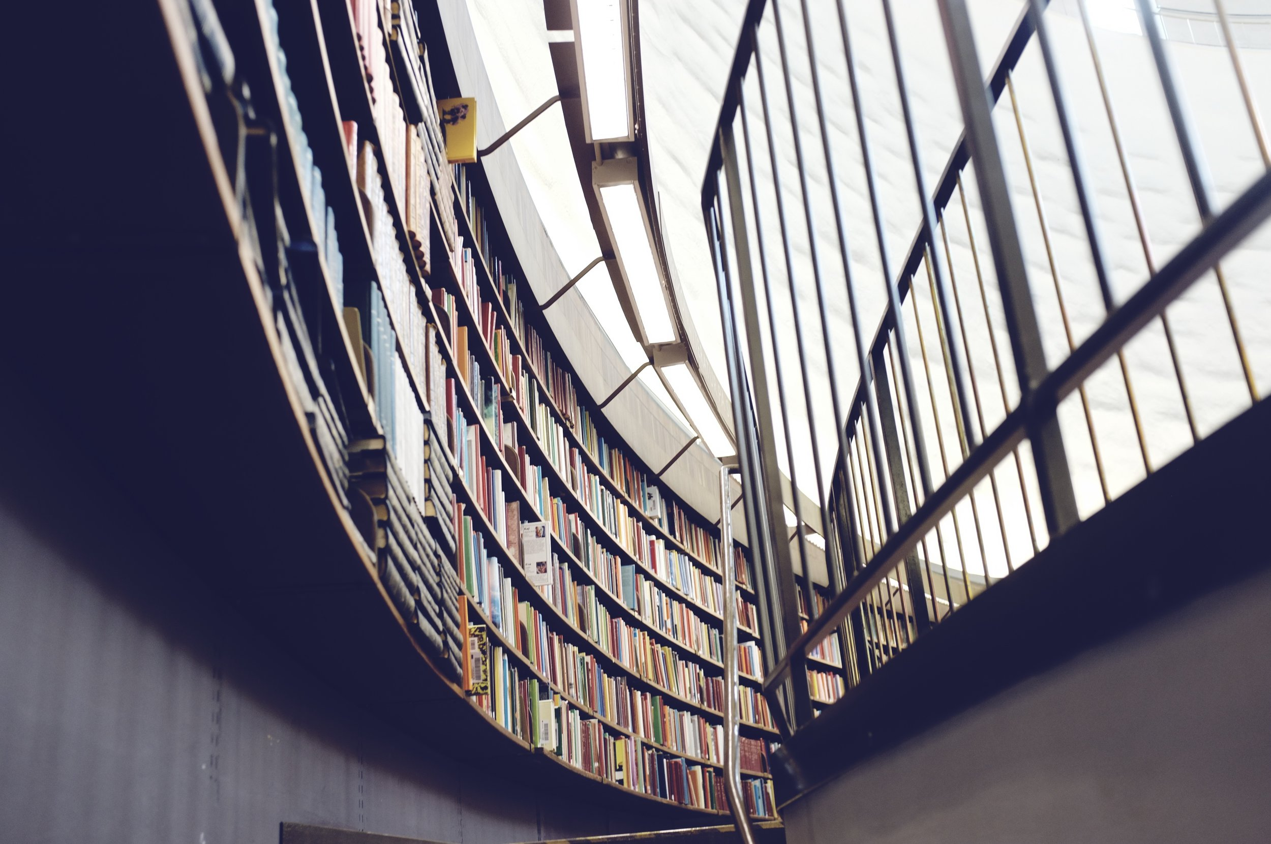 The information you can learn in the library go beyond the pages.  Photo: StockSnap.io