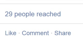 why don't people see my facebook posts